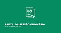 Câmara Municipal disponibiliza Pauta de Sessão