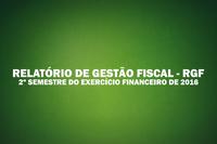 O Presidente da Câmara, Eurandir de Sousa Sinézio, PUBLICA, RELATÓRIO DE GESTÃO FISCAL - RGF 2º Semestre / Exercício de 2016
