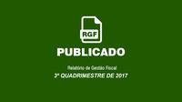 PUBLICADO O RELATÓRIO DE GESTÃO FISCAL
